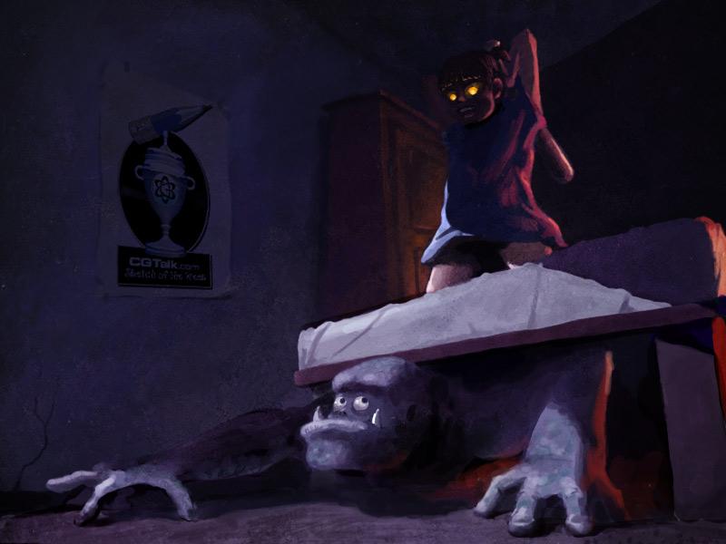 Она лазила под кроватью и он увидел весь зад, ебля двоих лучших друзей