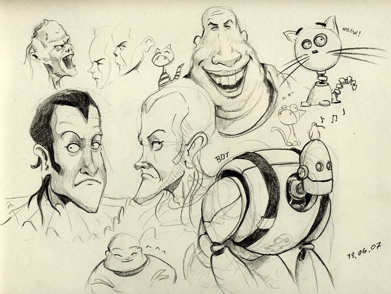 Cool Sketchbook Drawings